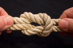 'beautiful [but deadly] square knot by woodleywonderworks, on Flickr' title='beautiful [but deadly] square knot by woodleywonderworks, on Flickr'